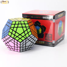 Carica l'immagine nel visualizzatore di Gallery, Shengshou Wumofang 5x5x5 Magic Cube Shengshou Gigaminx 5x5 Professional Dodecahedron Cube Twist Puzzle Learning Educational Toys