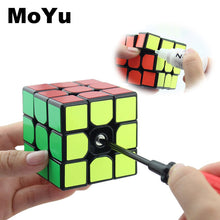 Carica l'immagine nel visualizzatore di Gallery, MOYU 3x3x3 Magic Cubes Professional Fast Speed Rotating Cubos Magicos 3 by 3 Speed Cube Classic Kids Toys for Children