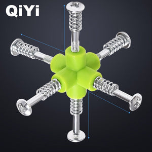 QIYI Warrior W Speed Cube 3x3x3 Magic Cube 5.6CM Professional Puzzle Rotating Smooth Cubos Magicos Toys for Children Gifts MF3