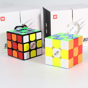 3x3x3 Puzzle Magnetc Cube 3x3 MoFangGe Thunderclap V3 M Regular & Magnetic Magic Speed Cube Professional Magico Cubo Toy