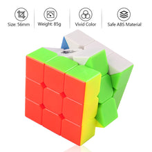 Carica l'immagine nel visualizzatore di Gallery, D-FantiX Cyclone Boys 3x3x3 Magic Cube Professional Speed Cubes 3x3 Puzzles 3 by 3 Speedcube (56mm)