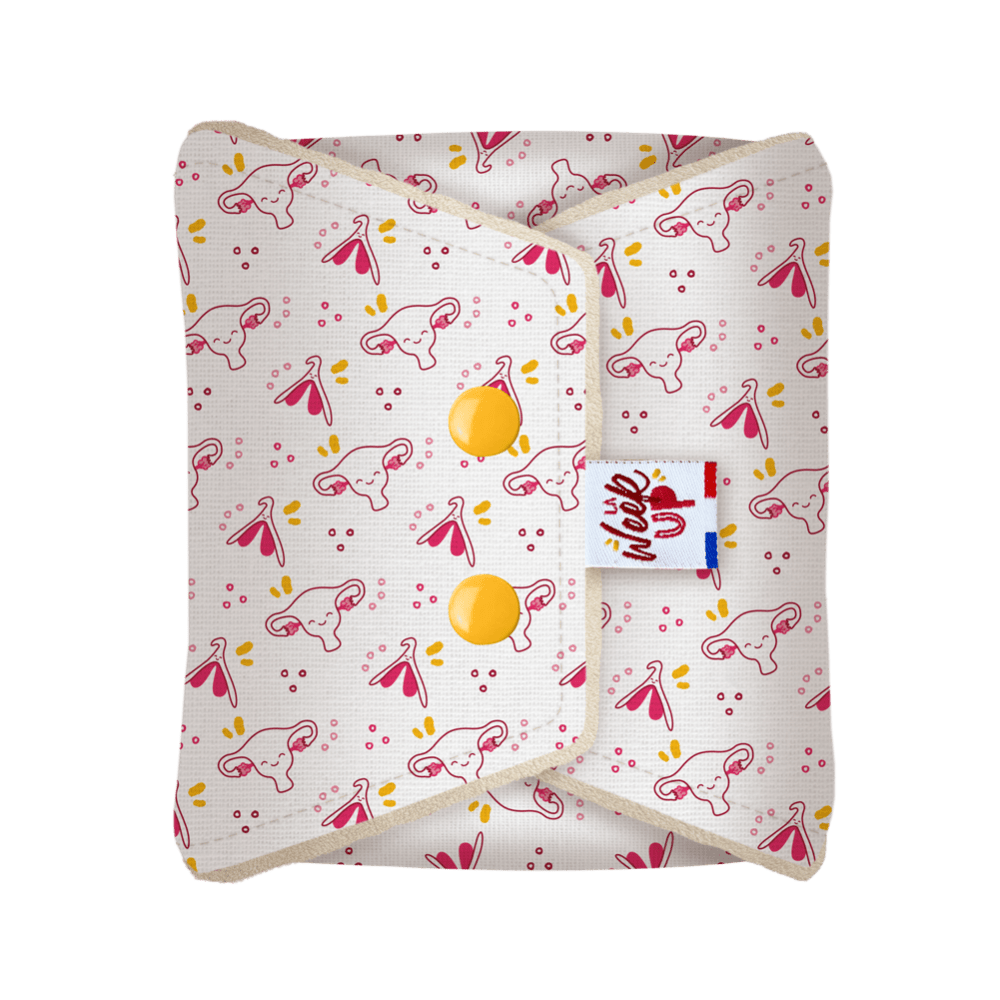 serviette menstruelle lavable nuit cup week up