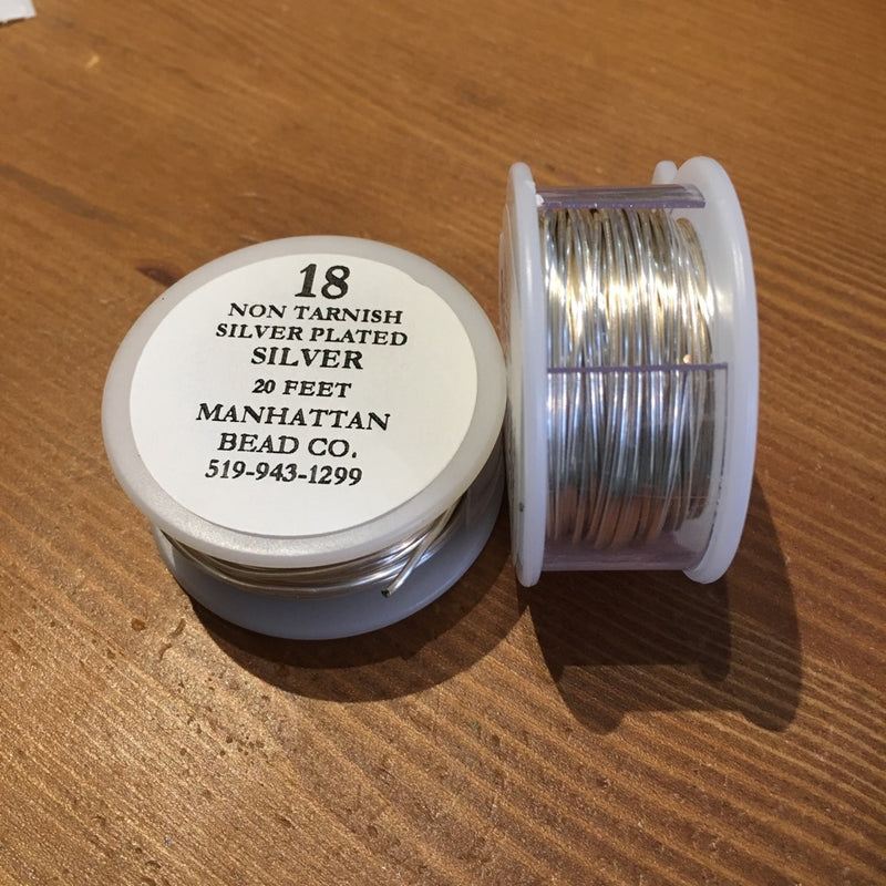 Parawire (USA) Copper Core Wire - Silver