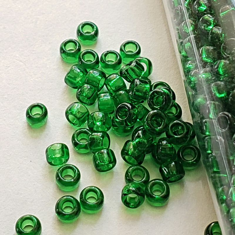 Seed Beads - 8/0 Transparent