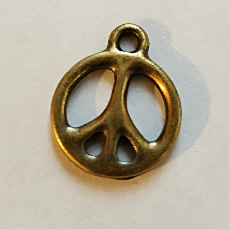 Charms - Peace Charm - 15mm