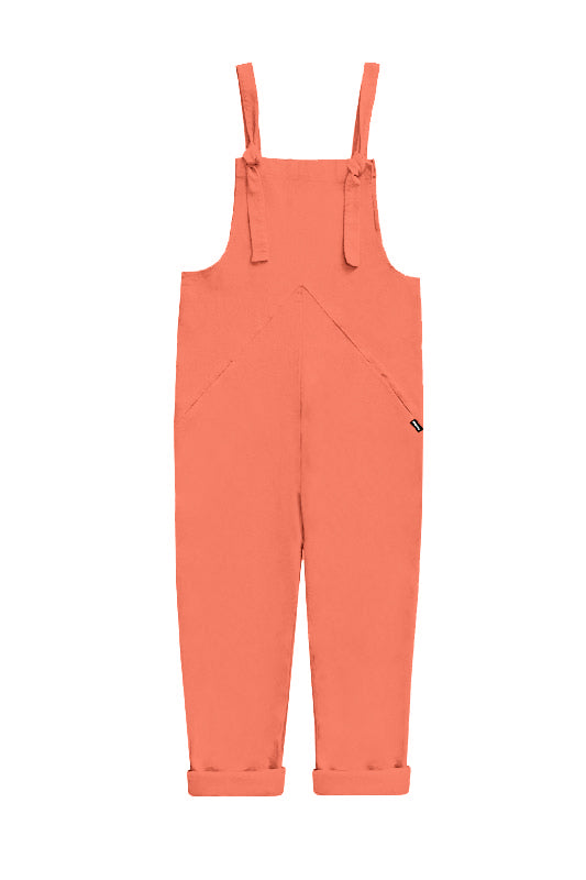 Dungarees - Coral