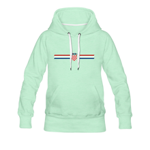 Laden Sie das Bild in den Galerie-Viewer, Kroatien Hoodie Women - BALKANIC