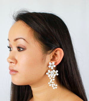 Liv Flower Drop Earring