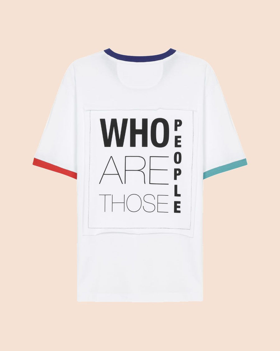 Who-Basic Tişört Unisex Who Are Those People