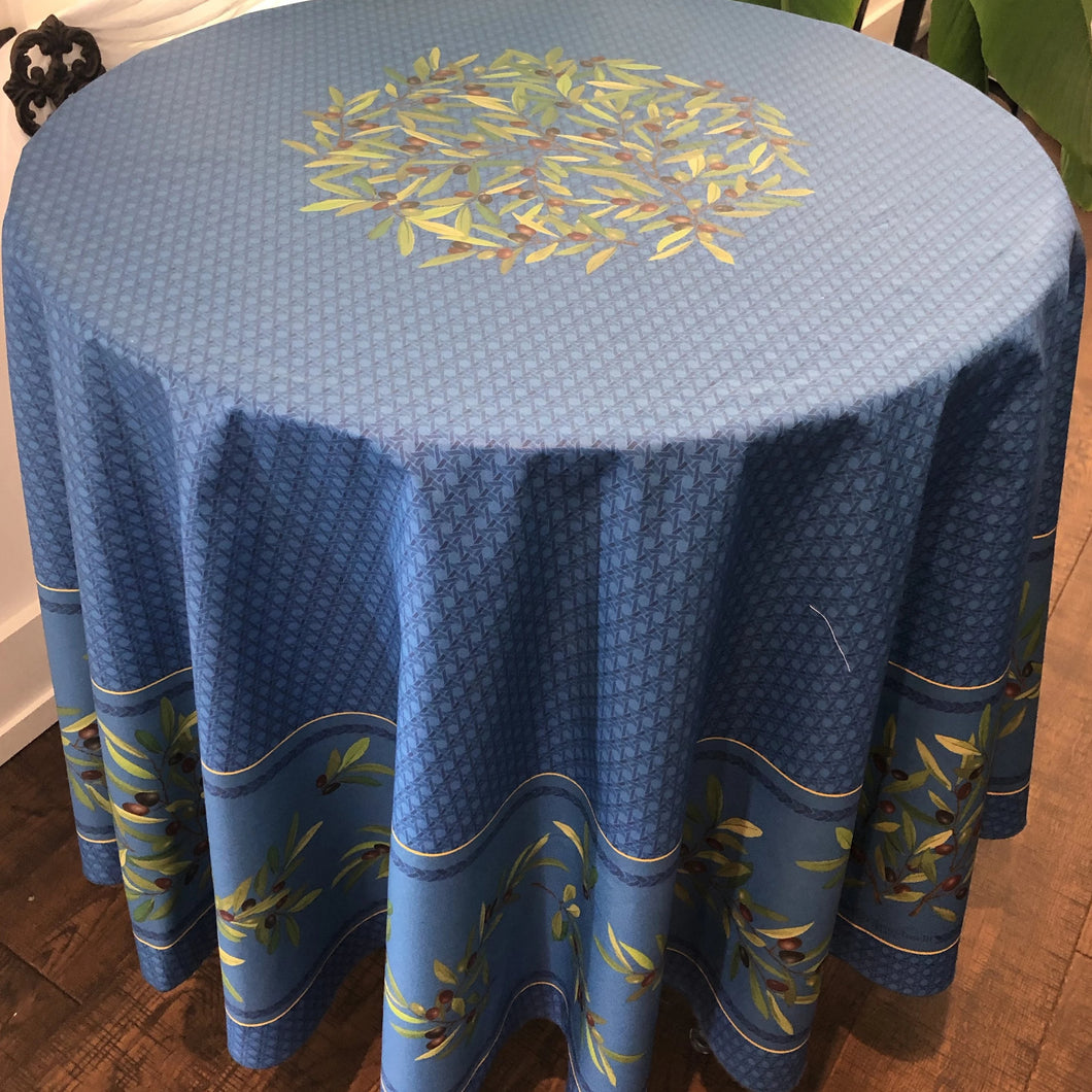 Nyons Round Tablecloth