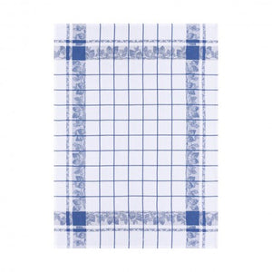 Jacquard Français Tea Towel - Fraises French Blue