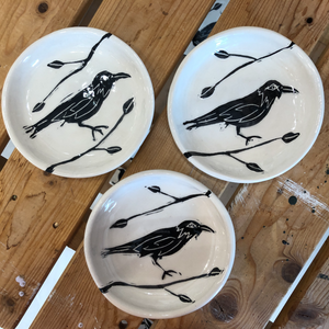 Hand-made Canadian Pottery - Raven Collection