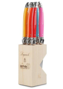 Laguiole Steak Knives - Multi-Coloured