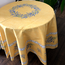 Load image into Gallery viewer, Valensole Round Tablecloth