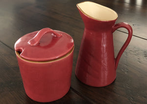 Novita Sugar Pot & Mini Carafe