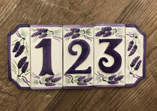 Load image into Gallery viewer, French Ceramic House Numbers
