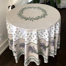 Load image into Gallery viewer, Lauris Round Tablecloth