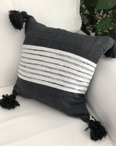 Pillow - Belted Charcoal