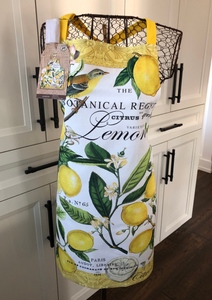 Michel Apron - Lemon Basil