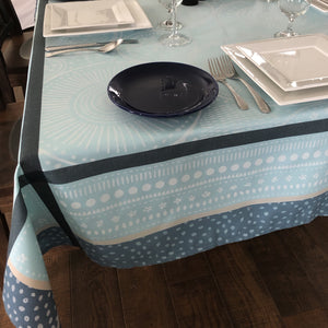 Jacquard Square Tablecloth - Polyester