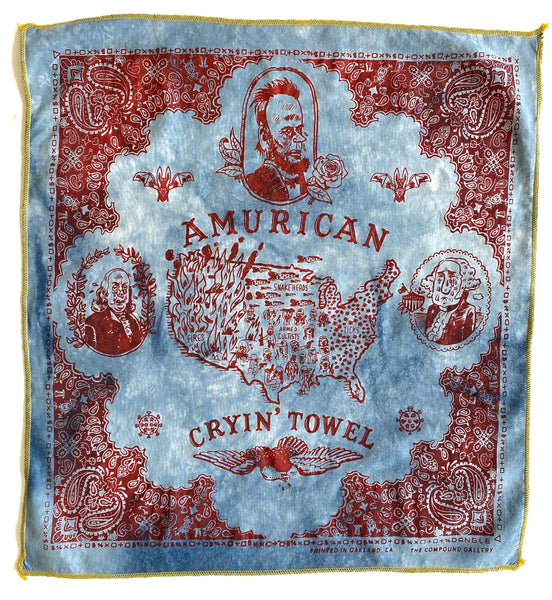 The Amurican Cryin' Towel-Special Distressed Edition