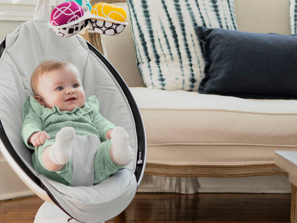 4 Ways a Baby Swing Can Help Calm Your Fussy Newborn