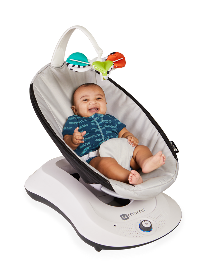 rockaRoo Baby Swing | Baby Rocker With Soothing Motion | 4moms®