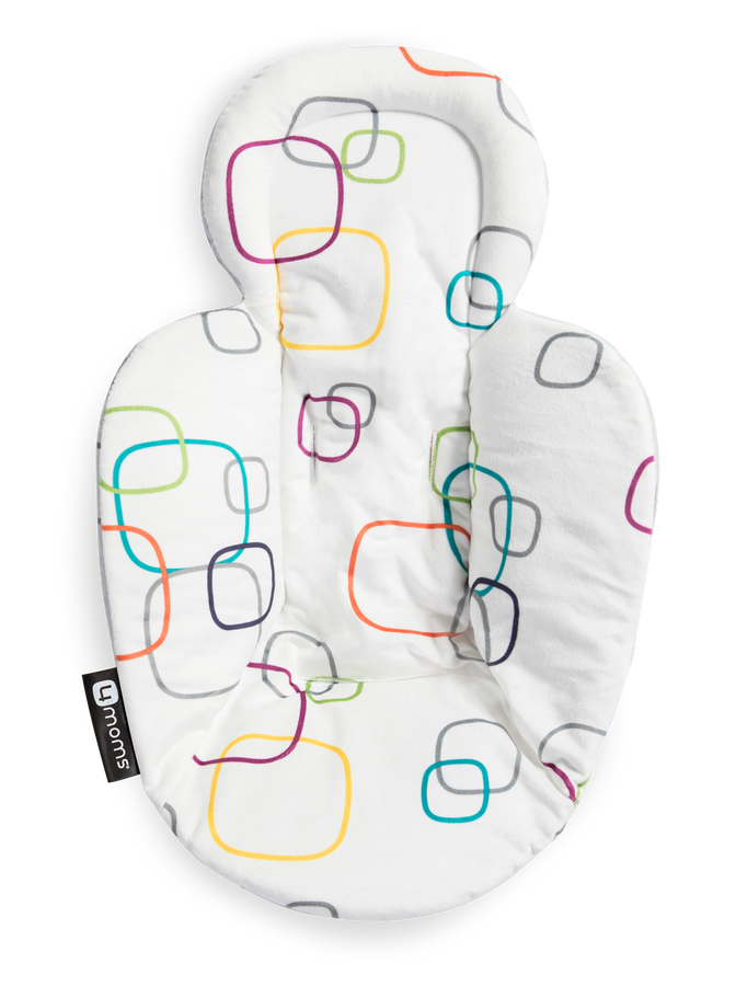 4Moms Reversible Little Astro Newborn Insert For Infant Seat and Swing NEW