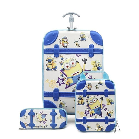 3D Anime Luggage Kits