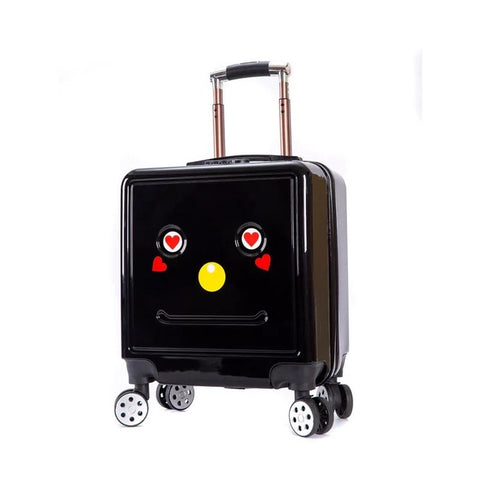 3D Travel Suitcase on Casters