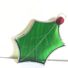 Load image into Gallery viewer, Holly leaf decoration