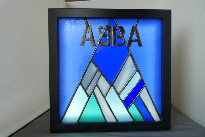 ABBA illuminated panel