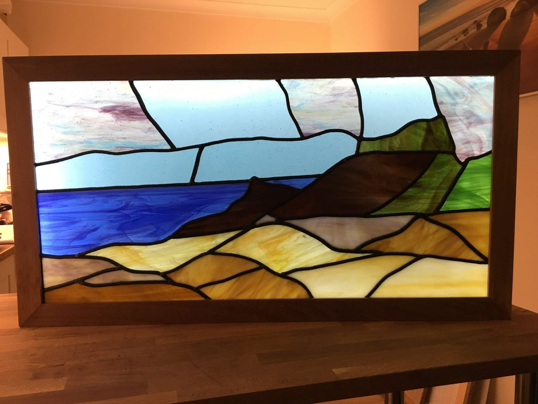Trevone Bay Commission Piece (Sold, please contact us for your own commission)