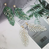 Statement Leaf Earrings