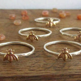 Simple Bee Ring