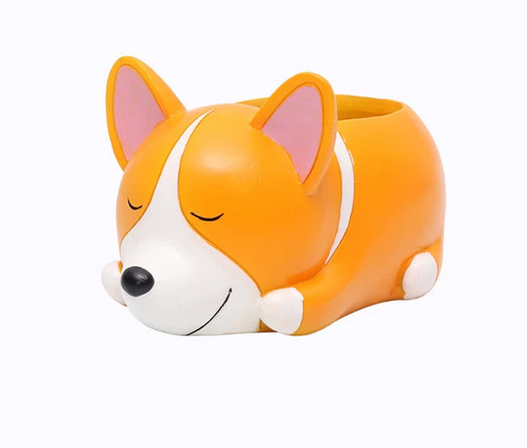 Cute Corgi Succulent Pot