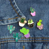 Mini Plant Enamel Pins