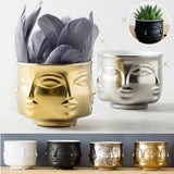 Face Flower Pot