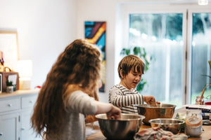Busy is best: What to do with kids at home