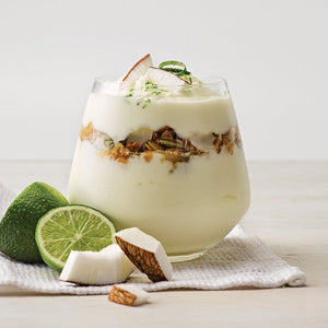 Greek Style Lime with Coconut Bits