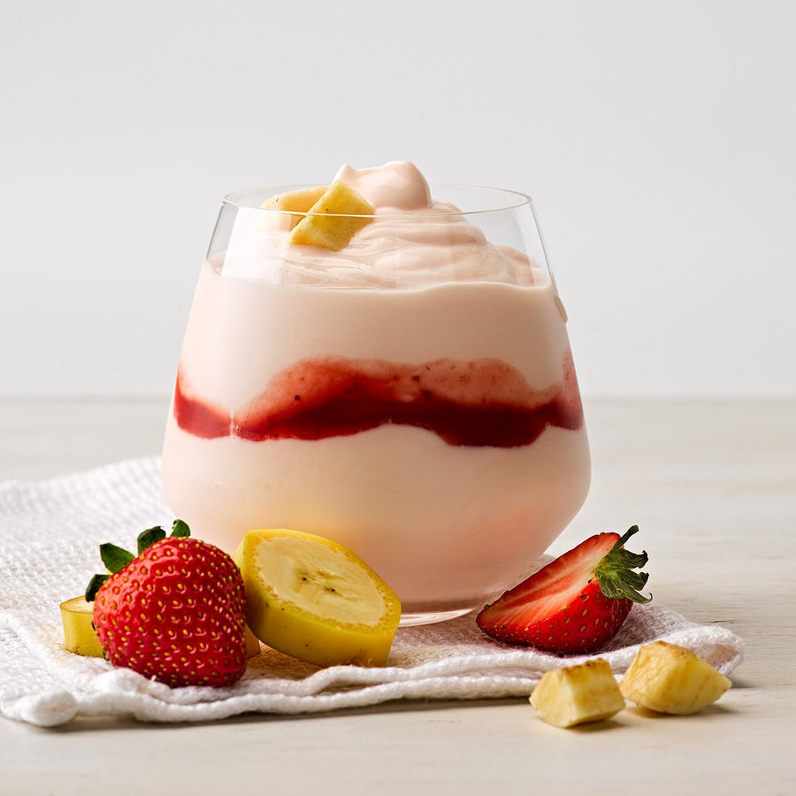 Greek Style Strawberry & Banana