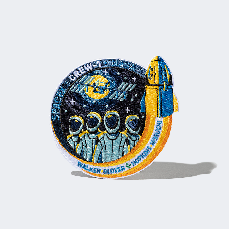SpaceX Crew 20 Mission Patch