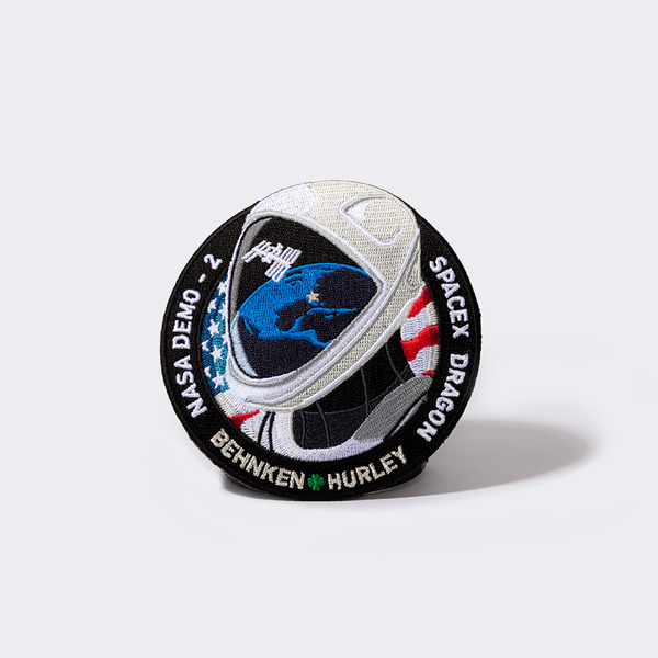 SpaceX Demo 2 Mission Patch
