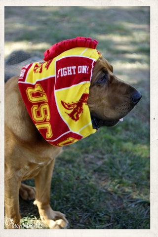 USC Trojans Dog Snood Scarf Neckwear