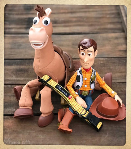 "Disney's Pixar Toy Story Inspired ""Woody's Shirt"" Dog Collar"