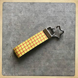 "Disney's Pixar Toy Story Inspired ""Woody's Shirt"" Key Fob"
