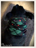 Plaid Dog Snood Scarf Neckwear