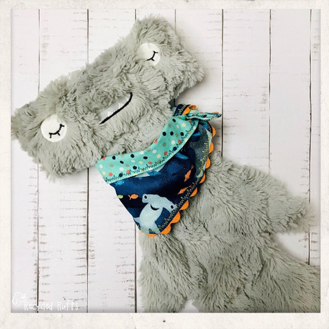 Hammerhead & Sharks Slumberkins Inspired Doll Bandana
