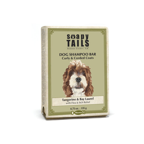 Soapy Tails - Curly & Corded Coats ~ Dog Shampoo Bar