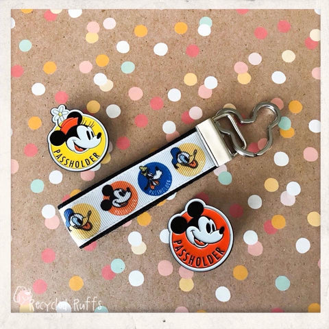 Disney Annual Passholder Key Fob